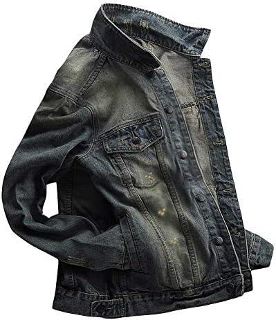 デニムジャケット メンズ gジャン 綿 ウォッシュ加工 大きいサイズ カジュアル ジージャン アウター 春夏