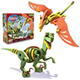 Bloco Toys Inc Velociraptor and Pterosaur
