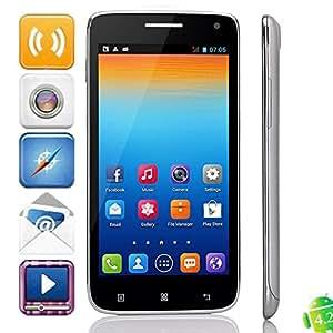 Mzamzi - Gran valor z.doxio s960 5.0 \ android 4.2.2 mtk6572 dual -core 1.0ghz 512mb 4gb smartphone plata negro