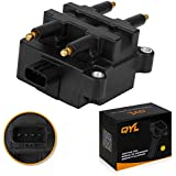 Ignition Coil Pack with 4 Pins for Subaru 2.2L 2.5L Compatible with C1228 UF240 22433-AA410 22433-AA570
