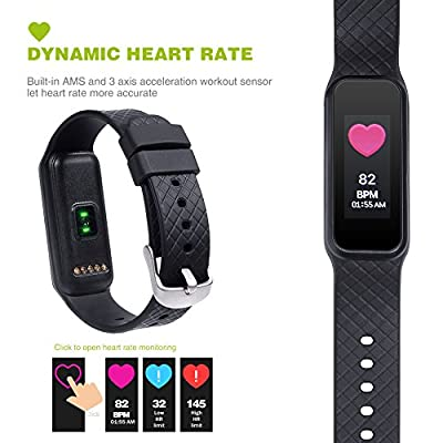 Fitness Tracker L38i Full Touch Color Screen with Heart rate monitor IP67 Waterproof Bluetooth 4.0 Smart Bracelet For IOS and Android