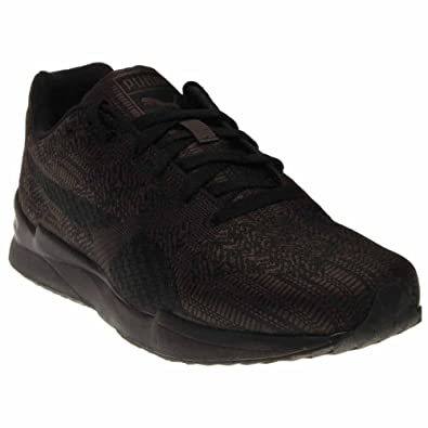 PUMA Men's Xs500 Woven Sneaker, Dark Shadow/Black, ...