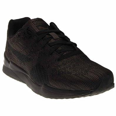 PUMA Mens Xs500 Woven Sneaker Dark ShadowBlack 75 M