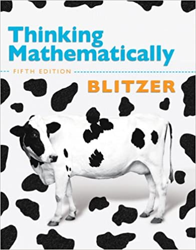 Image result for thinking mathematically blitzer