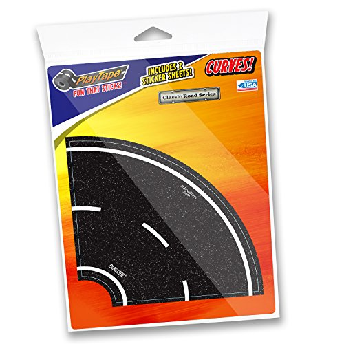 InRoad Toys PlayTape - Classic Road Series 4