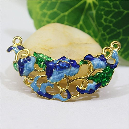 Cloisonne jade necklace pendant jade necklace pendant brand necklace pendant chain sweater accessories accessories loose beads wild