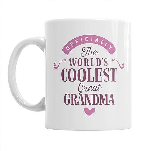 e3ce2cc63fc Great Grandma Gift, Coolest Great Grandma, Great Grandma Gifts For  Birthday, Best Great Grandma Gifts, Great Grandma Gifts, Great Grandma Mug,  Great ...