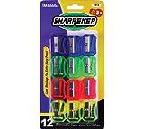 BAZIC Transparent Square Pencil Sharpener (12/pack)