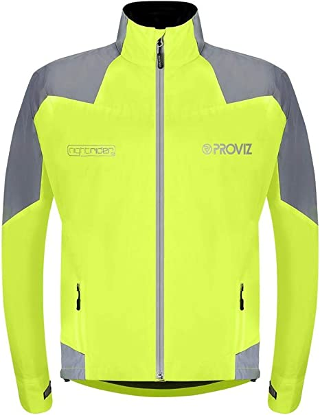 Proviz Mens Reflective Waterproof High-Viz Cycling Jacket All Sizes