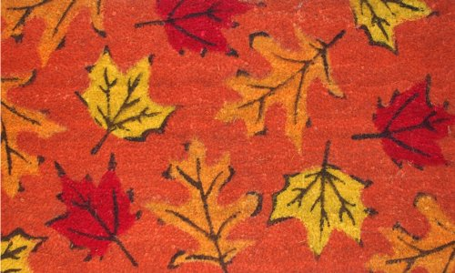 Home & More 120961729 Fall Leaves Doormat, 17