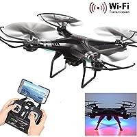 YJYdada X5SW-1 Wifi FPV RTF 2.4G 4CH RC Black Quadcopter Camera Drone With HD Camera UAV
