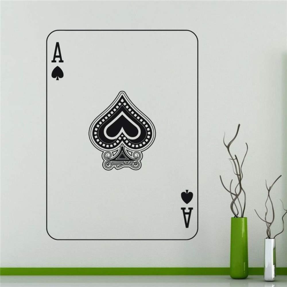tzxdbh Ace of Spades Poker Tatuajes de Pared Sticker Home Art ...