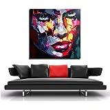 Modern Art Acrylbild - Le visage de femme - Martin Klein - signiert - Moderne Gemälde - Acrylbilder Kaufen - Wandbilder Kaufen