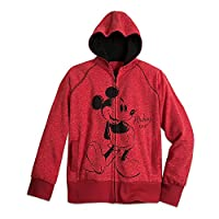 Disney Mickey Mouse Hoodie for Women Red