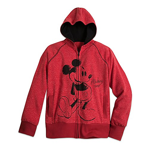 Disney Mickey Mouse Hoodie for Women Size Ladies 2XL Red