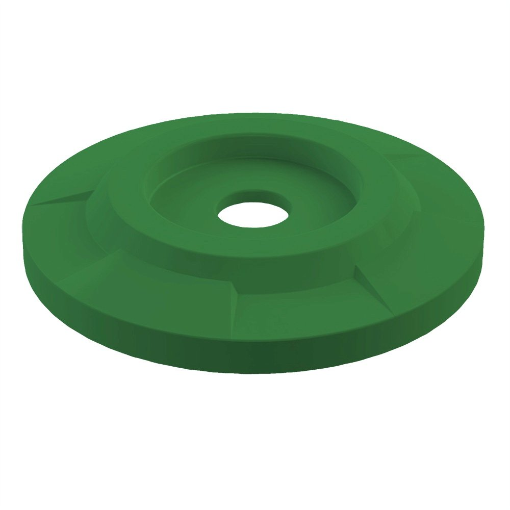 4'' Recycle Lid For 55 Gallon Drum | Green