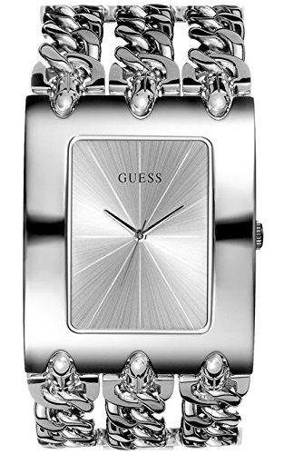Guess - Wristwatch, Quartz Analog, Stainless Steel, Women