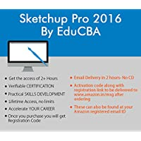 Sketchup Pro 2016 By EduCBA ( Email Delivery in 2 hours - No CD)