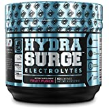 HYDRASURGE Electrolyte Powder - Hydration Supplement with Key Minerals, Himalayan Sea Salt, Coconut Water, More - 60…