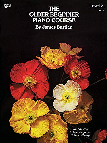 WP33 - The Older Beginner Piano Course - Level 2 - Bastien