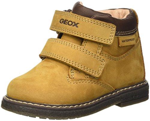 Geox B Glimmer Boy Wpf a, Botas Clasicas para Bebés Amarillo (Biscuit / DK Brown C5B6R)