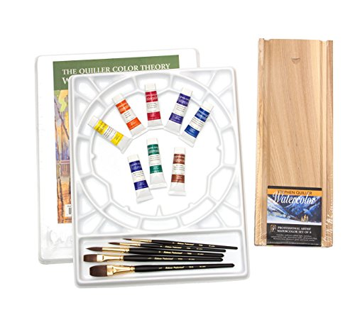 Jack Richeson BS002 Barb Seibel's Studio Watercolor Kit (Quiller Palette)