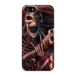 CharlesPoirier Iphone 5/5s Perfect Hard Cell-phone Cases Customized Attractive Iron Maiden Band Pattern [atD5770aZJB]