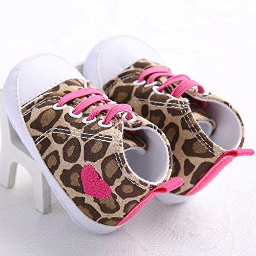 Etrack-Online , Baby Jungen Lauflernschuhe leopard 12 - 18 Monate leopard