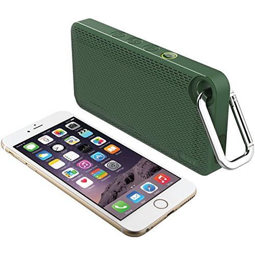 ILUV AUDMINIS6GN App-Controlled Splashproof Bluetooth(R) Speaker (Green)