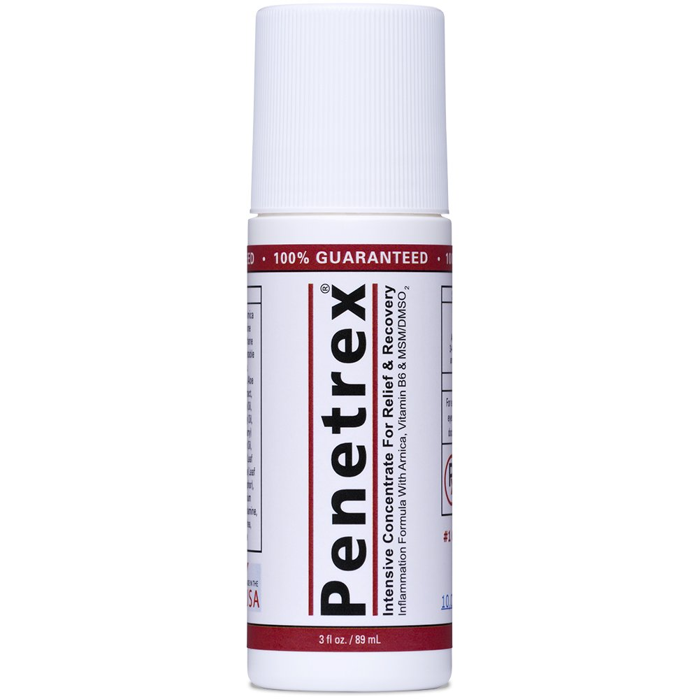 NEW :: Penetrex Pain Relief Roll-On [3 Oz] – Effective on its own -AND- Used to Accelerate Results with Arthritis Gloves, Back Pain Massagers, Knee Braces, Tennis Elbow Straps, Neuropathy Socks, etc.