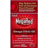 美亚:含丰富Omega-3,Schiff MegaRed Omega-3 天然磷虾油 300mg*60粒.99,约合85元(金盒特价)