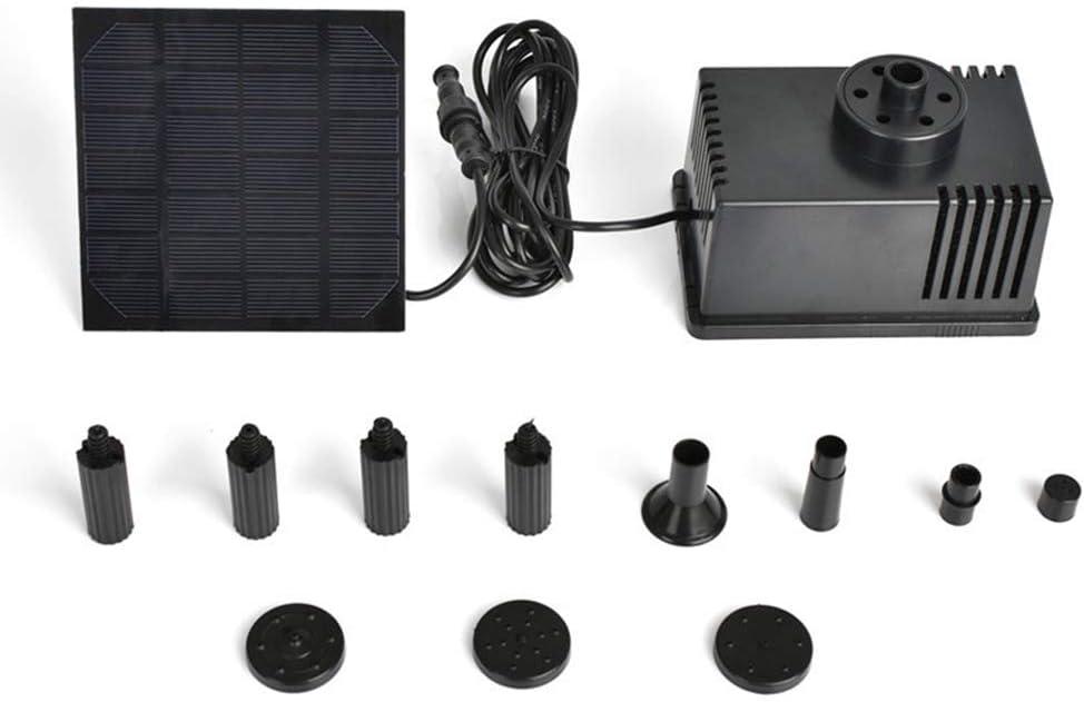 Panneau dalimentation solaire ext/érieur pompe de fontaine solaire deau de bain doiseau avec fonction de filtre arroseur de pompe de fontaine solaire pour aquarium de jardin de bassin de piscine