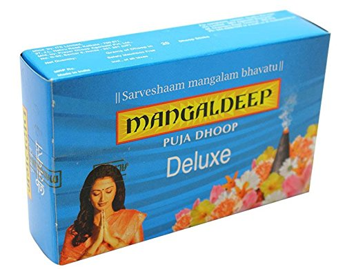 MANGALDEEP POOJA DHOOP STICKS 20 INCENSE STICKS (DELUXE)