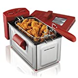 Hamilton Beach 8 Cup Fast Cooking Stainless Steel Deep Fryer with...