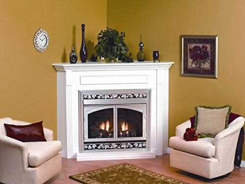 Cherry Standard Cabinet (Empire Comfort Systems EMBC-1S-C Cherry Standard Corner Cabinet Mantle)