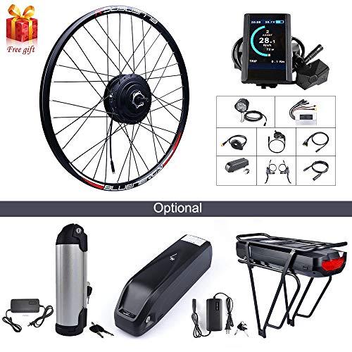 BAFANG 48V 500W Rear Hub Motor Kit Electric Bicycle Conversion Kit for Bikes 26