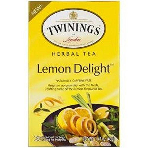 Twinings Lemon - Twining Tea Herbal Lemon Delight, 1.41 oz