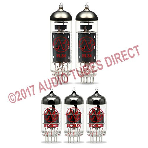 JJ Tube Upgrade Kit For VOX AC15C1 Amps EL84 ECC83S by JJ Electronic