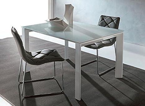 Outlet Sedia Design - Tavolo Art. 629 - Sliver 140 x 90 allungabile ...