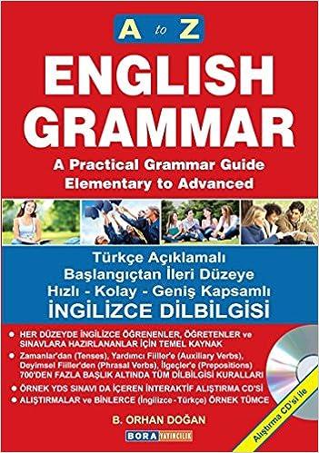 A'dan Z'ye İngilizce Dilbilgisi (2 Renkli Baskı): Alıştırma