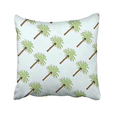 Pakaku Throw Pillows Covers for Couch/Bed 16 x 16 inch,Palm Trees Home Sofa Cushion Cover Pillowcase Gift Decorative Hidden Zipper Design Cotton and Polyester Blended Soft Touch - Size: 16 x 16 inch, 41cm x 41cm Hidden zipper closure.Double-sided pattern Cushion Cover ONLY, Insert SOLD SEPARATELY. - patio, outdoor-throw-pillows, outdoor-decor - 51IxB8jcuXL. SS400  -