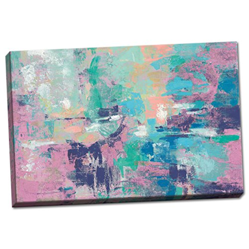 Gango Home Decor Contemporary Fjord Reflections Crop, used for sale  Delivered anywhere in USA