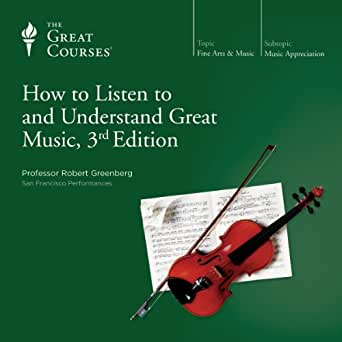 How to Listen to and Understand Great Music - cover