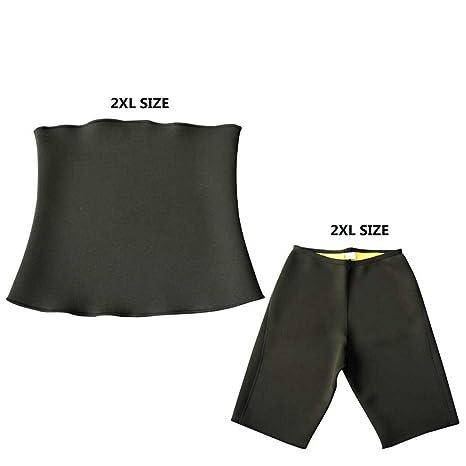 4c9651dea24 MZjJPN Men Shapers Neoprene Waist Trainer Control Pants Sweat Sauna Vest  Tank Top Slimming Body shaper