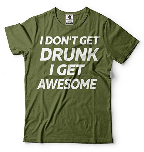Silk Impressionante I Partito T Militare Get Uomo Alcol Verde shirt Shirt Tees Road T rqwxg4rH