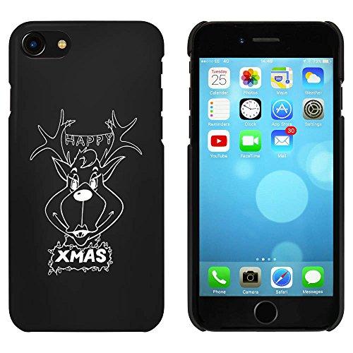 Noir 'Cupidon du Renne' étui / housse pour iPhone 7 (MC00067759)