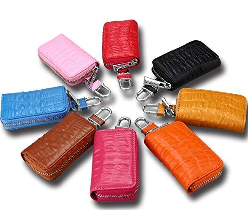 TOPSTORE01 Autoschlüssel Tasche Kleine Leder Brieftasche Kleine Karte Pocket Card Bag für Mann Frau Tasche (Color 8) Color 6 z355mkhFZG