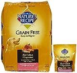 Nature's Recipe Grain Free Salmon + Grain-Free Salmon Biscuits Bundle
