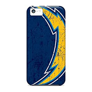 Anti-scratch And Shatterproof San Diego Chargers Phone Cases For Iphone 5c/ High Quality Tpu Cases