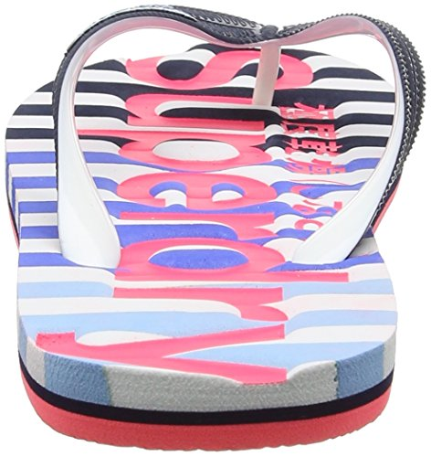 Pink Flop Hazard Eva Dark Navy Superdry Women's Flip Optic Multicolore Sandals COnwPqzWZ
